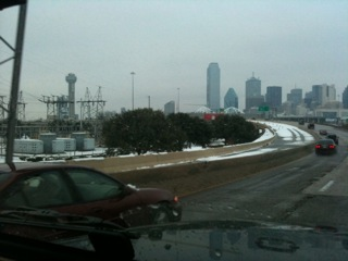 dallas snow